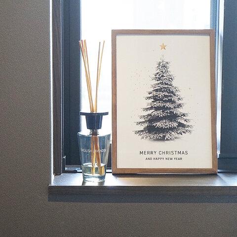 クリスマスツリーアートポスター | クリスマス・イベント・日本製