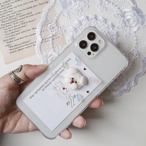 メレンゲわんこiPhoneケース