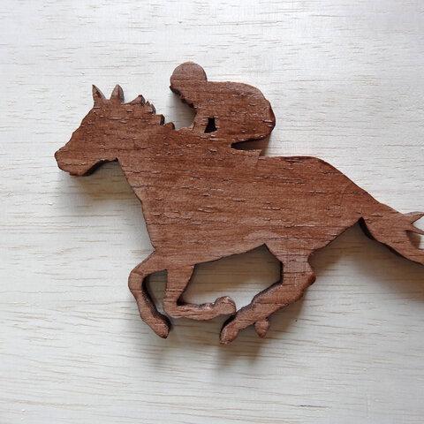 馬 オーナメント(KEIBA)