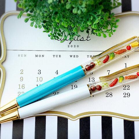 「再販」ミニチュアお弁当セットのボールペン【受注製作】