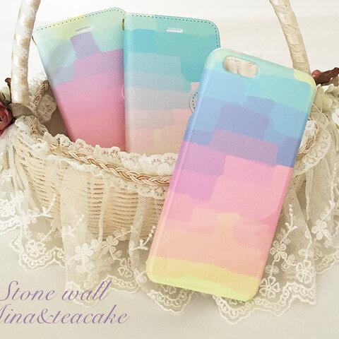 セール!iPhone6/6s Stone wall ハード スマートフォンケース