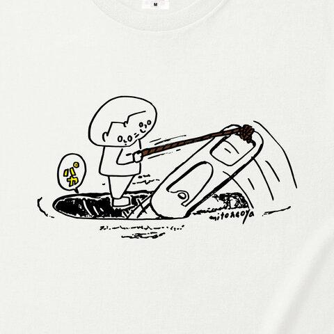 プルタブTシャツ