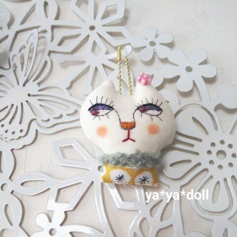 猫人形 チャー厶 北欧風 ya*ya*doll アクセサリー