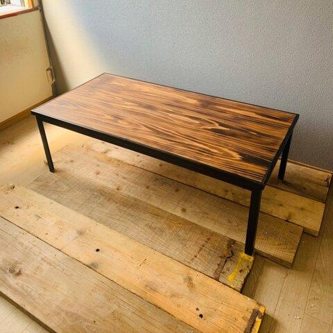 steel× woodシリーズ ローテーブル CT-2