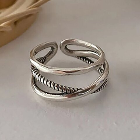 silver ring   S925【R-59】