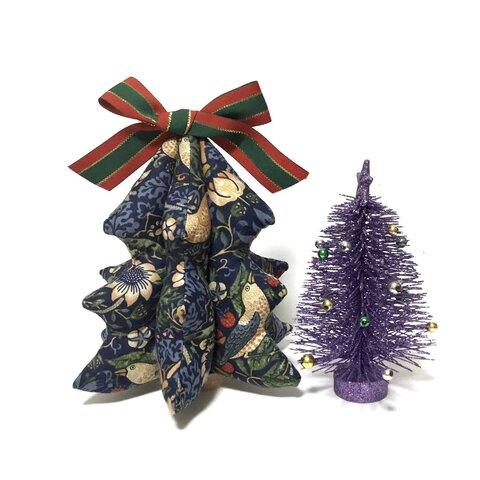 ウイリアムモリス 布クリスマスツリー