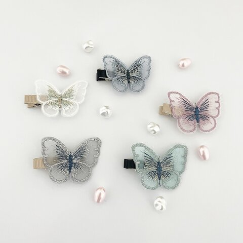 【꙳★*゚送料無料꙳★*゚】colorful butterfly