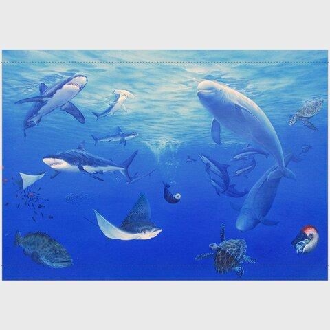 スナメリ 海洋生物タペストリー