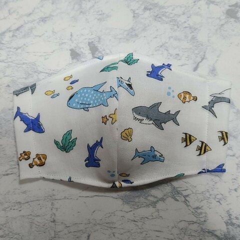 マスク 子供用 サメ カクレクマノミ