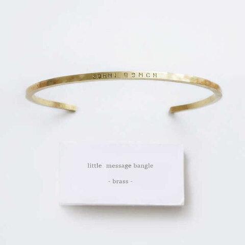 [両面刻印可能 ][華奢]メッセージ刻印 バングル E1518F42 ブレスレット  ゴールド 名入れ プレゼント シンプル ペアにも出来る 刻印 誕生日 メンズ レディース セミオーダー
