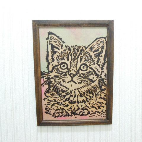 猫の壁掛け2
