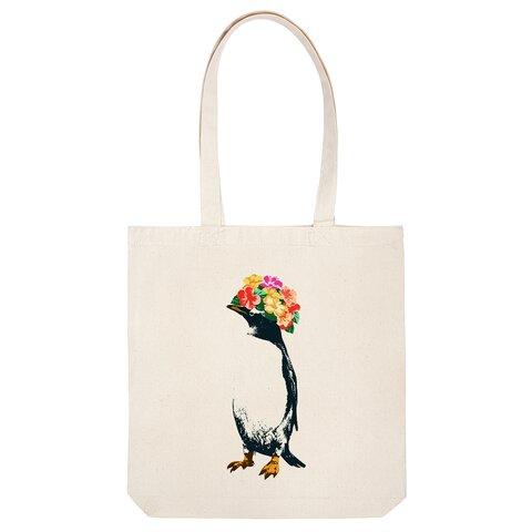 [トートバッグ] flower penguin