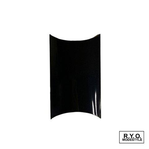ピローケース 紙箱 Mサイズ ブラック 10枚セット