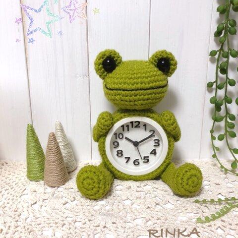 カエルちゃん時計⏰