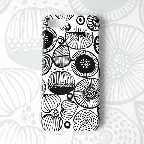 モダンフラワー iphoneハードケース