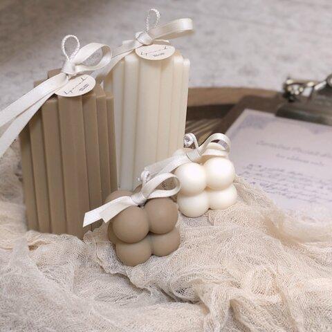 ♥階段キャンドルとminiキャンドルSET♥韓国インテリア 結婚式のウェルカムスペースの装飾やバースデーフォト 誕生日