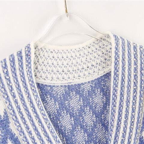 受注制作  秋冬*大人のゆったりセーター コート