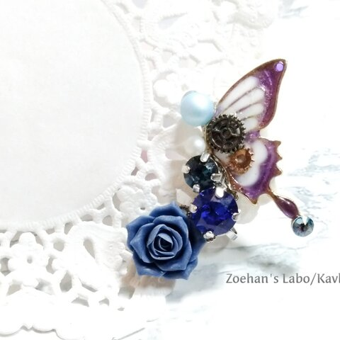ネジ巻き蝶