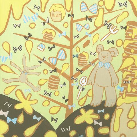 パンケーキの森ではちみつのシャワー(NO.2012034)