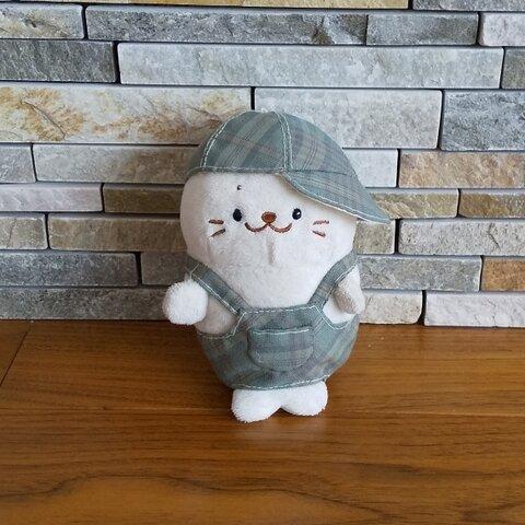 ☆ついたん☆  秋のオーバーオールと帽子のセット