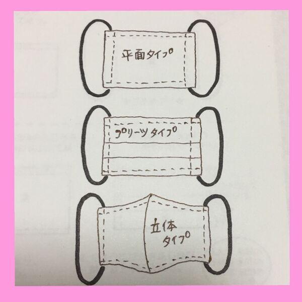 手作り マスク の 型紙