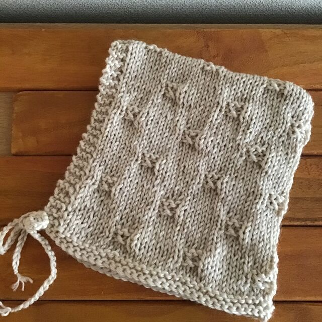 棒針 模様 編み
