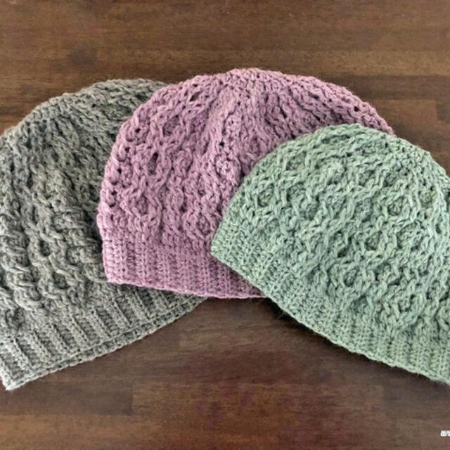 大人 の ニット 帽子 の 編み 方 かぎ針