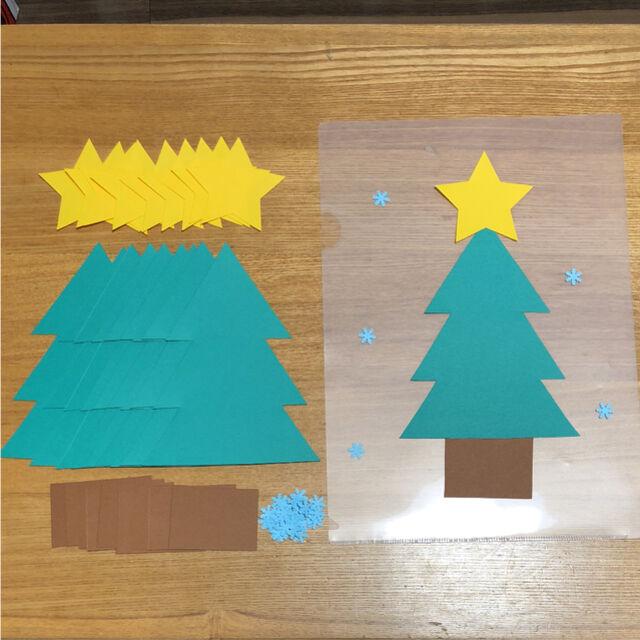 製作セット【クリスマスツリー10セット】