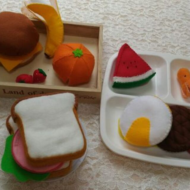 食パン ハンバーガー