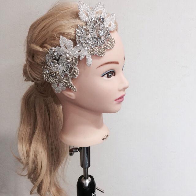 Wedding Head Bijou Accessory ヘアドレス ヘアアクセサリー ヘッド