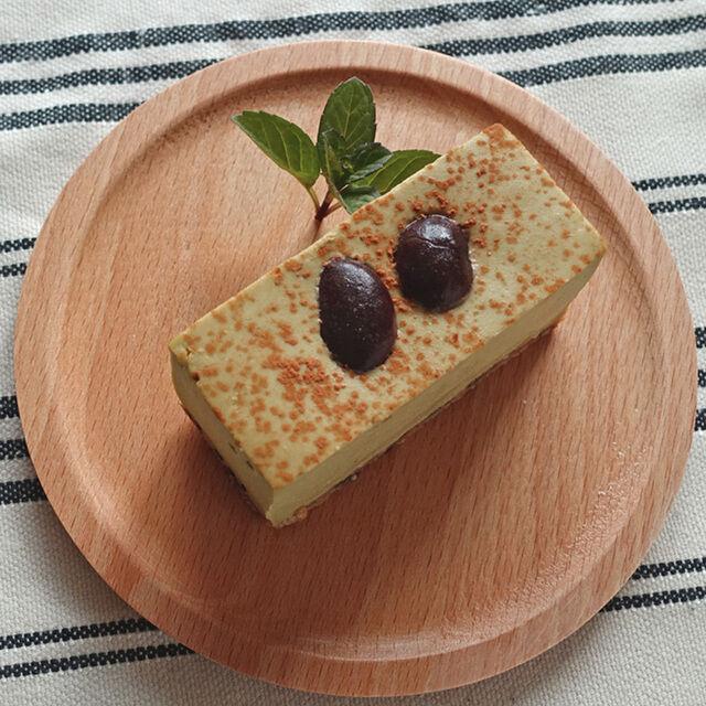 お取り寄せ(楽天) 糖質制限 黒抹茶のレアチーズケーキ コガネイチーズケーキ 価格2,786円 (税込)